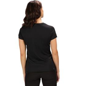 Regatta Fingal IV Bluzka z krótkim rękawem Kobiety, black